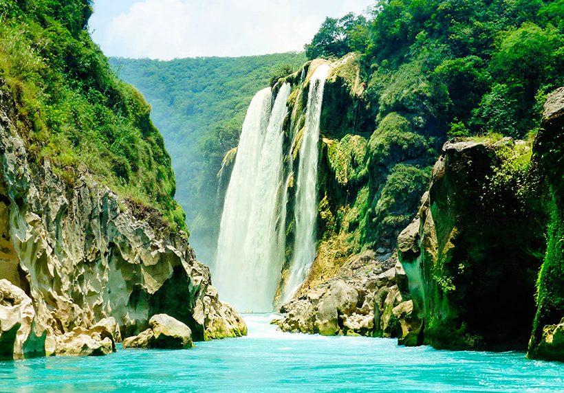 Cascadas en México